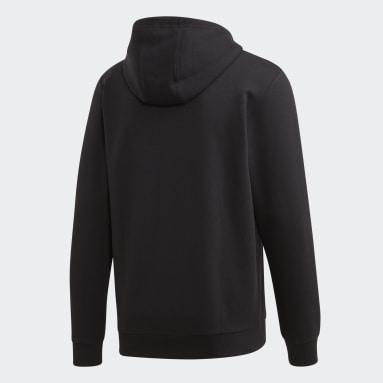 Veste à capuche Essentials Camouflage Linear Noir Hommes Sportswear