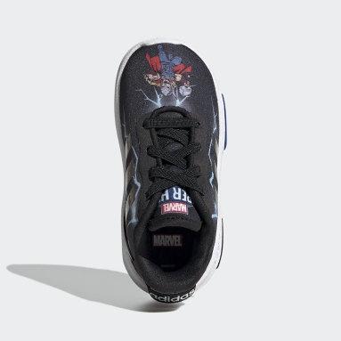 Infant & Toddler Essentials Black Marvel Superhero Racer TR 2.0 Shoes