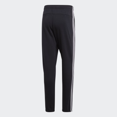 Pants Essentials 3 Franjas Negro Hombre Diseño Deportivo