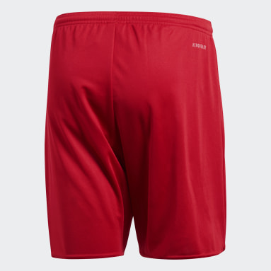 Men Gym & Training Red Parma 16 Shorts