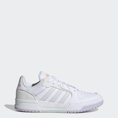 Women's Essentials White Entrap Shoes