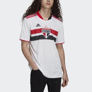 Camisa 1 São Paulo FC 21/22 Branco Homem Futebol