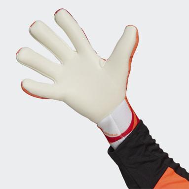Football Orange X Training Gloves
