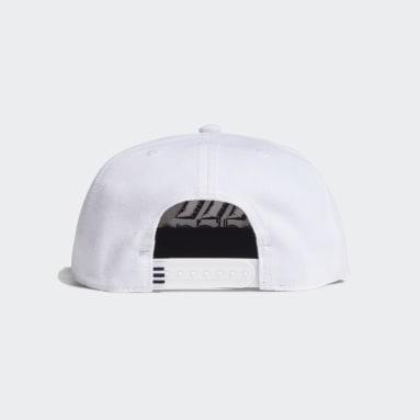Field Hockey White Snapback Cap