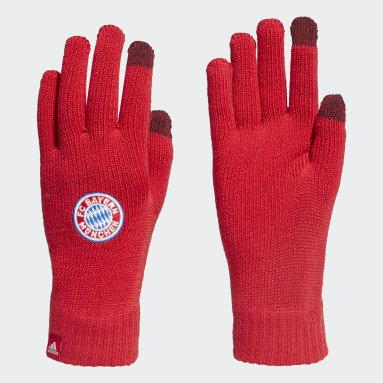 Football Red FC Bayern Gloves