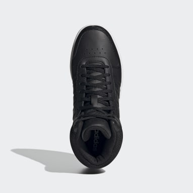 Zapatillas Hoops 2.0 Mid Negro Mujer Diseño Deportivo