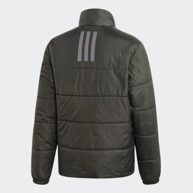 BSC 3-Stripes Insulated Winter Jacket Szary