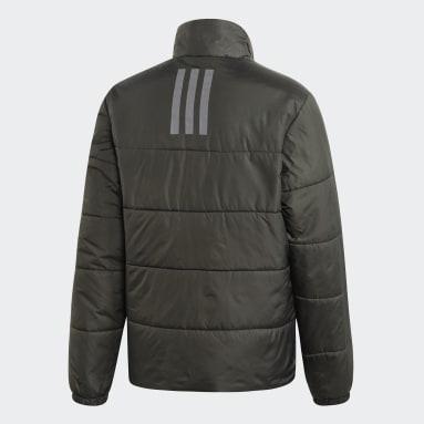 Chaqueta BSC Insulated Winter Jacket 3 bandas Gris Hombre Outdoor Urbano