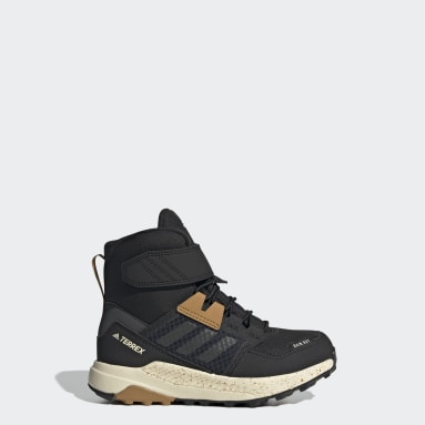 Kids TERREX Black Terrex Trailmaker High COLD.RDY Hiking Shoes