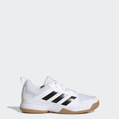 Kinder Tischtennis Ligra 7 Indoor Schuh Weiß