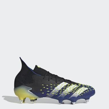 Botines Predator Freak.1 Terreno Suave Negro Hombre Fútbol