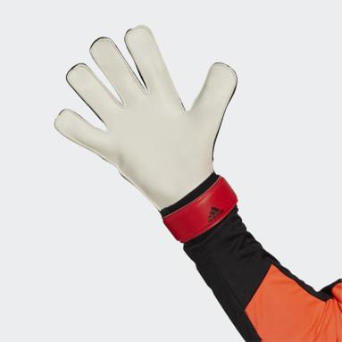 Futbal červená Brankárske rukavice Predator Training
