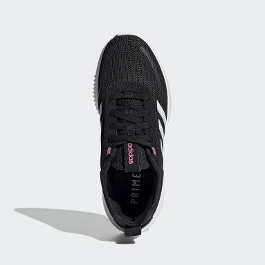 Women Sport Inspired Black Lite Racer Rebold Shoes