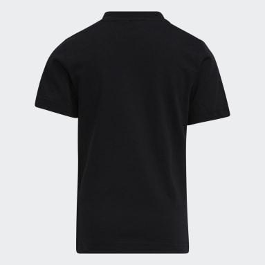 Little Kids Laugh Canister T-skjorte Svart