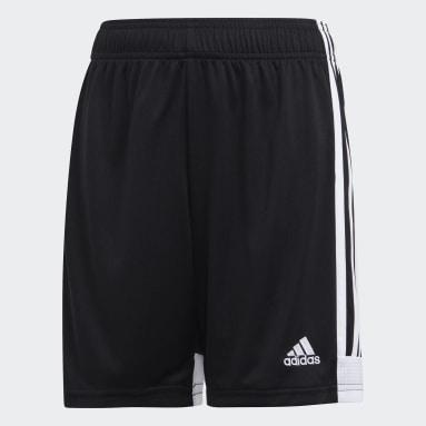 Youth Soccer Black Tastigo 19 Shorts
