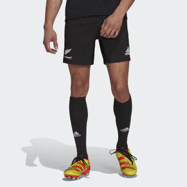 Muži Ragby černá Domácí šortky All Blacks Replica
