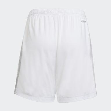 Pantalón corto primera equipación Ajax 21/22 Blanco Niño Fútbol