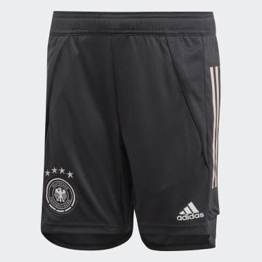 Kids Football Grey Germany Training Shorts