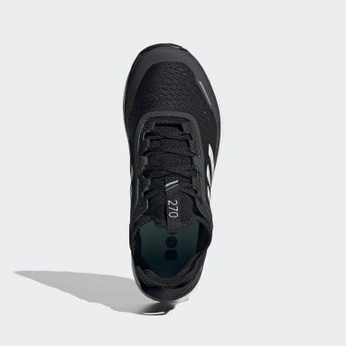 Women TERREX Black Terrex Agravic Flow Trail Running Shoes