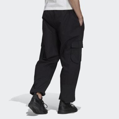 Muži Originals černá Kalhoty adidas Adventure Cargo