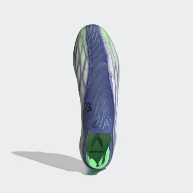 Football Blue X Speedflow+ Adizero Firm Ground Boots