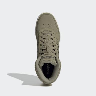 Sapatos Hoops 2.0 Mid Verde Basquetebol