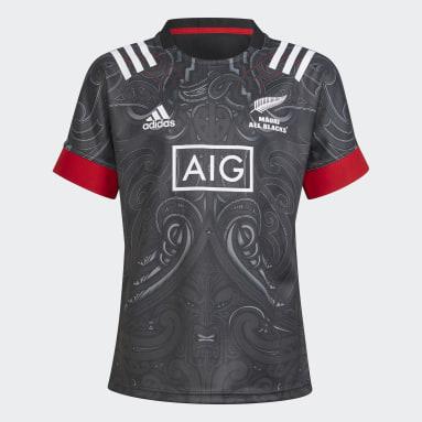 Kids Rugby Black Maori Replica Jersey