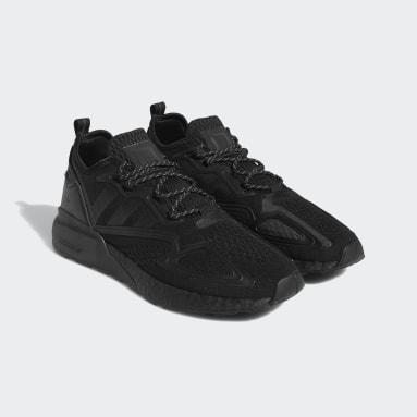 Chaussure Pharrell Williams ZX 2K Boost noir Originals