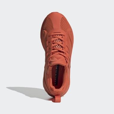 Women Running Orange SolarGlide Karlie Kloss Shoes