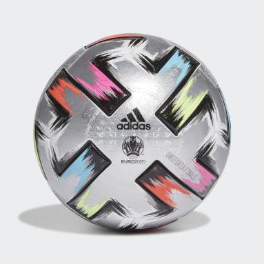серебряный Футбольный мяч Uniforia Finale Pro