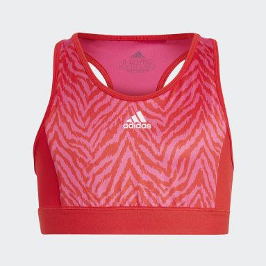 Designed 2 Move Bra Top Czerwony