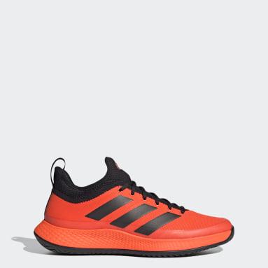 Men Tennis Orange Defiant Generation Multicourt Tennis Shoes