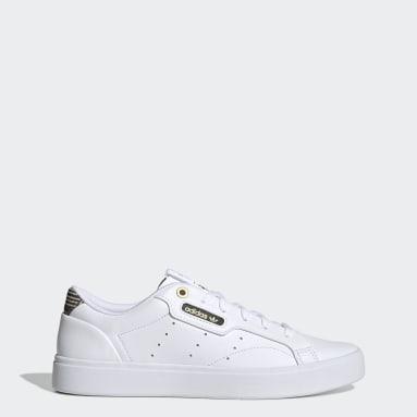Women Originals White adidas Sleek Shoes