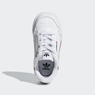 Toddlers 1-4 Years Originals White Continental 80 Shoes