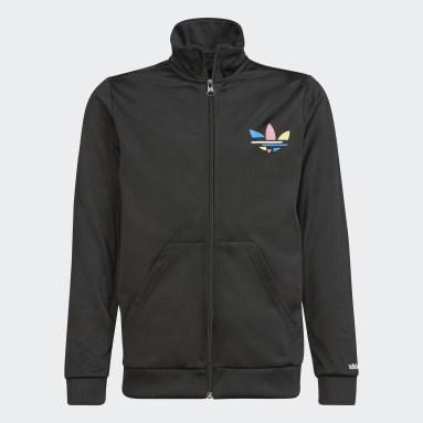 черный Олимпийка Adicolor