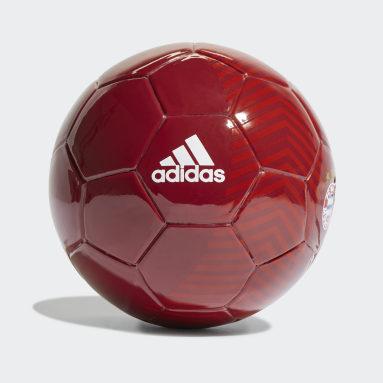 Pallone Mini Home FC Bayern München Rosso Calcio