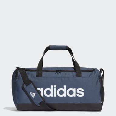 Sportswear Blå Essentials Logo sportstaske, medium