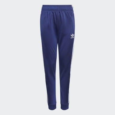 Børn Originals Blå Adicolor SST træningsbukser