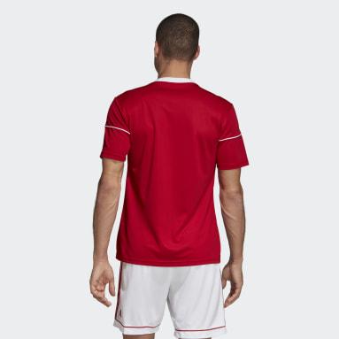 Camiseta Squadra 17 Rojo Hombre Gimnasio Y Entrenamiento