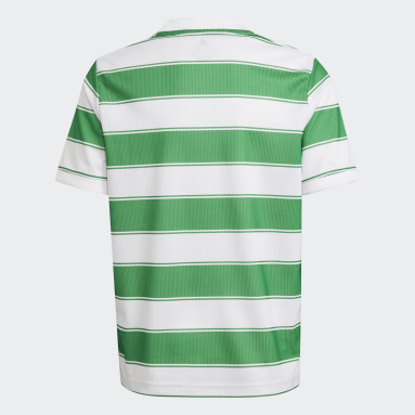 Youth 8-16 Years Football White Celtic FC 21/22 Home Jersey