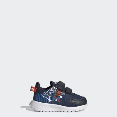 Kids Running Blue Marvel Tensaur Run Shoes