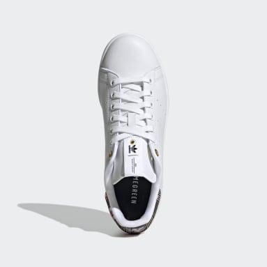 Women Originals White HER Studio London Stan Smith Shoes
