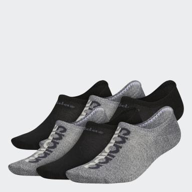Men's Training Beige Linear Superlite Super-No-Show Socks 6 Pairs