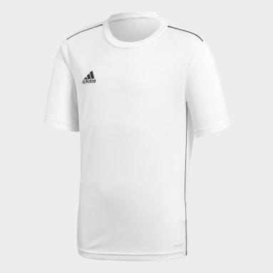 Camiseta entrenamiento Core 18 Blanco Niño Gimnasio Y Entrenamiento