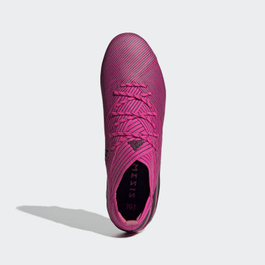 Nemeziz 19.1 Soft Ground Fotballsko Rosa