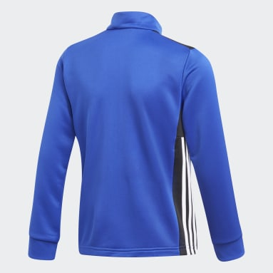 Kids Gym & Training Blue Regista 18 Jacket