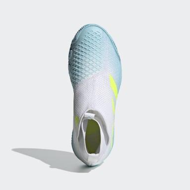 Mænd Tennis Blå Stycon Laceless Hardcourt Tennis sko
