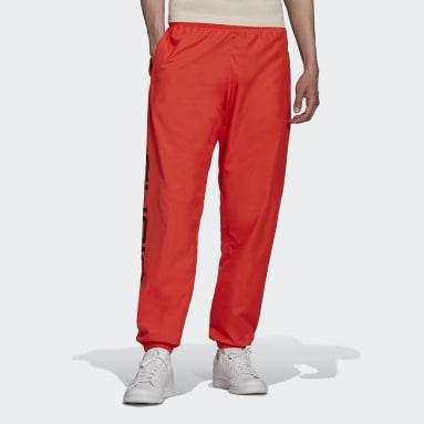 Men's Originals Red Graphics Symbol Track Pants
