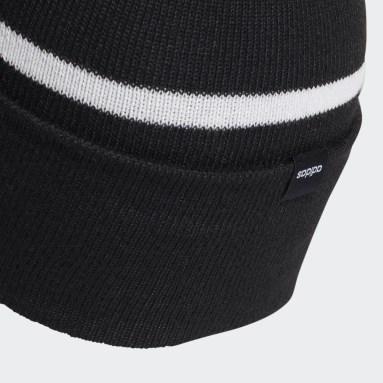 Essentials Black Woolie With Pompom