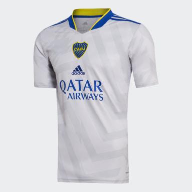 Camiseta Visitante Boca Juniors 21/22 Gris Hombre Fútbol